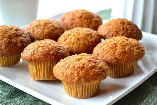 Carrot mini muffins