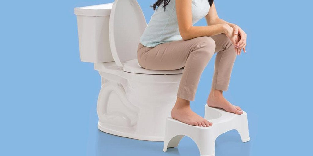 Open the Bowels with Squatting at the toilet