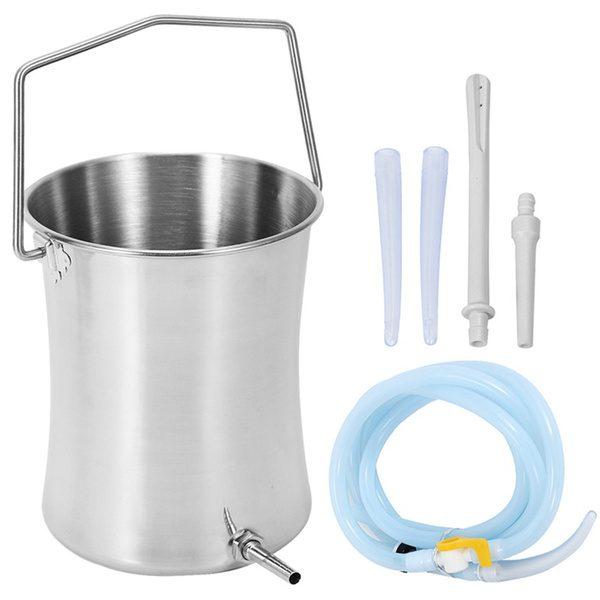 Stainless Steel Enema Bucket - 2L