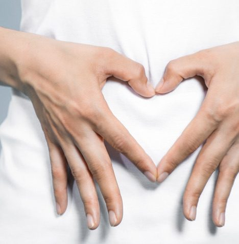 picture of hands making a heart shape