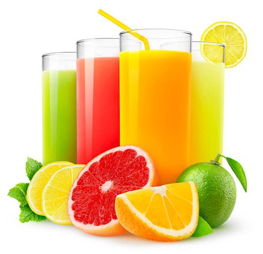 Picture of fruit juices